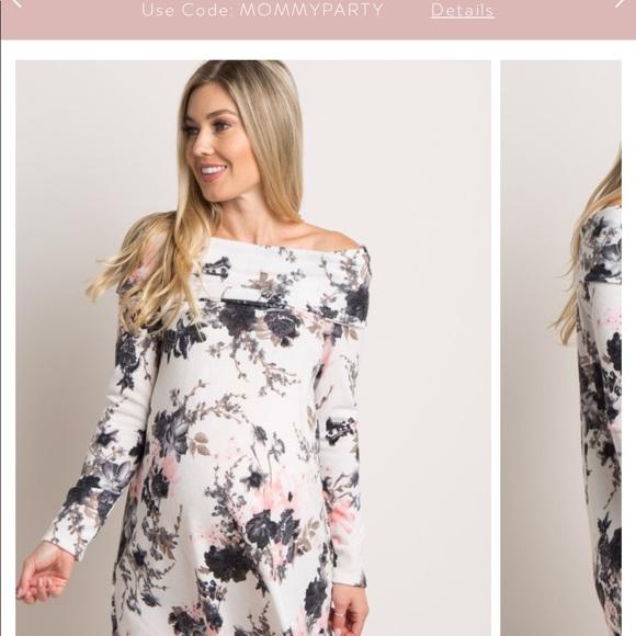 NWT pink blush maternity dress 4eb938912